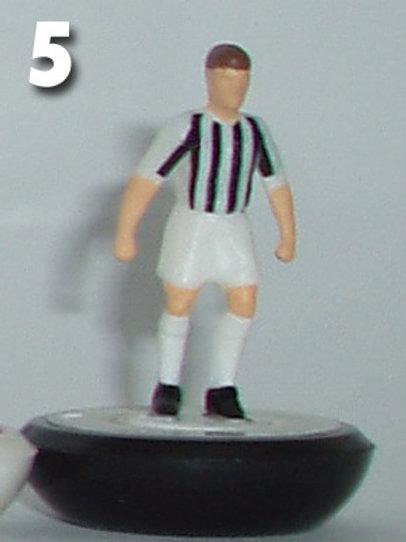 Juventus style playing figures