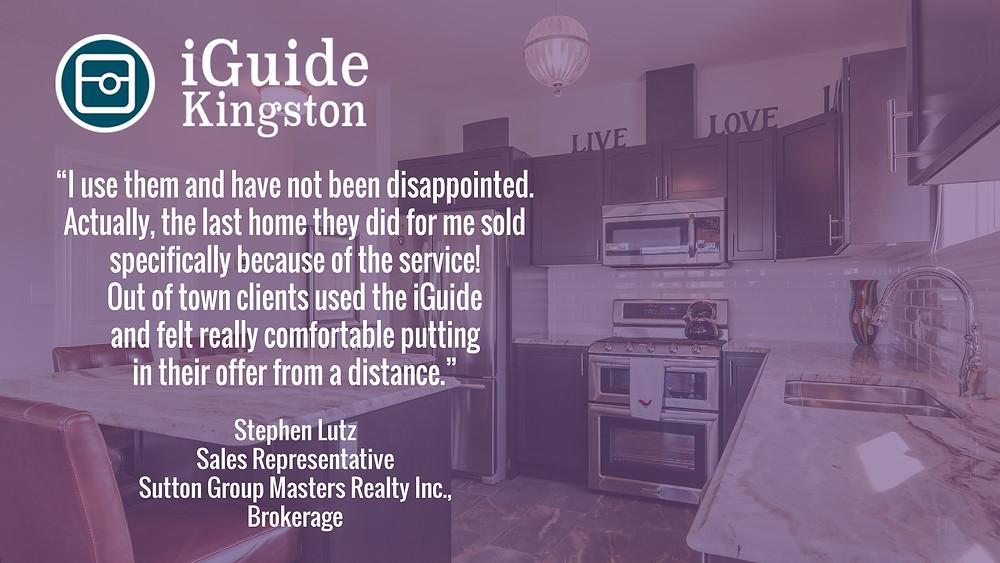 iGuide Kingston Testimonial