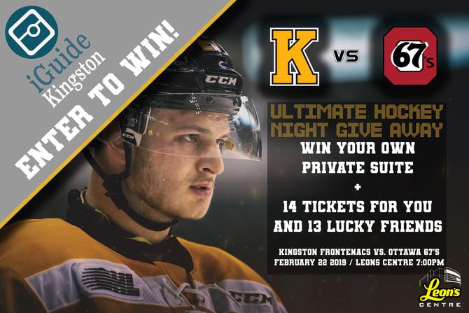 Hockey Night in Kingston: February Giveaway