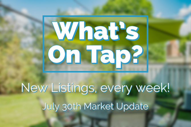 What's On Tap? Your Tuesday, July 30th Market Update