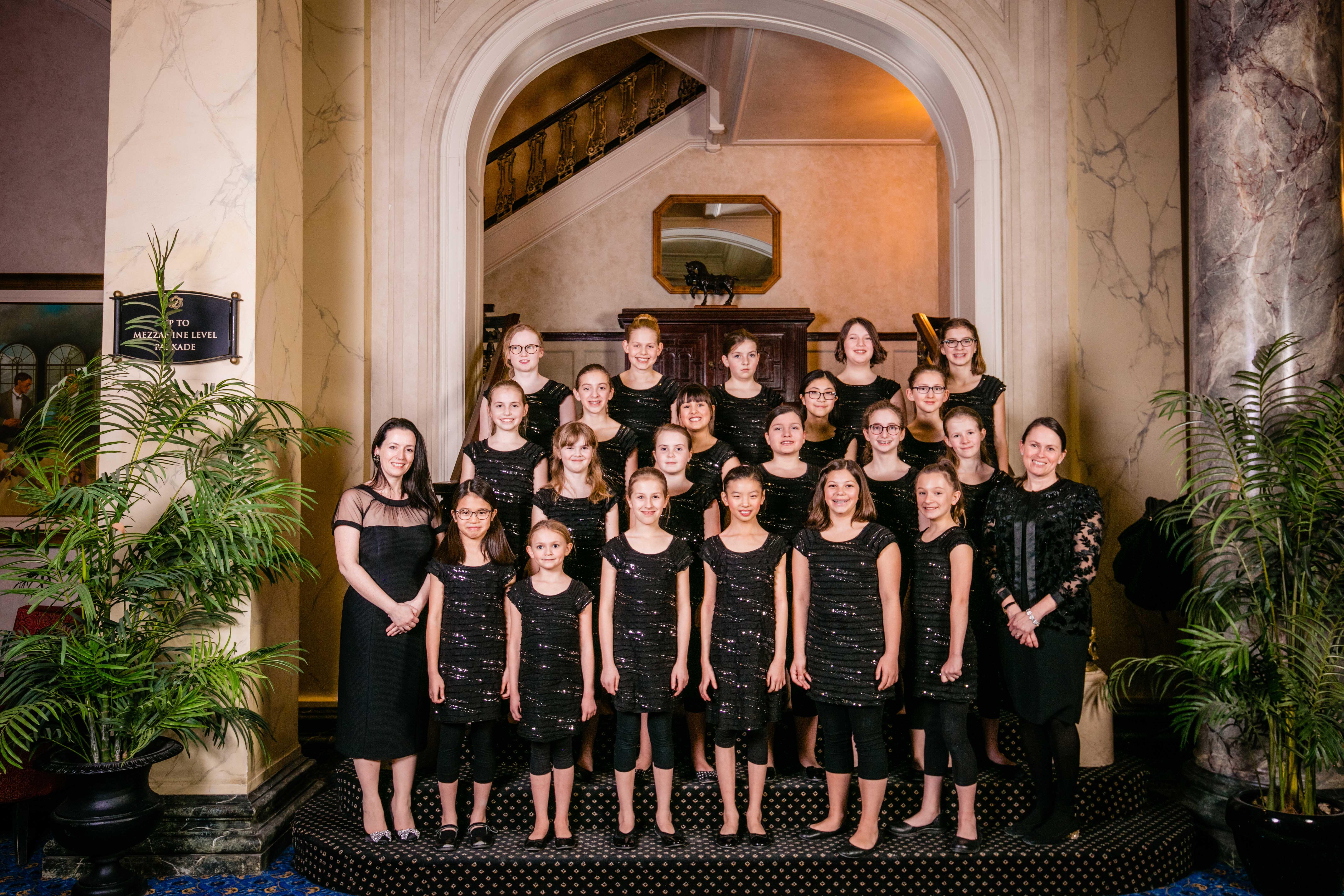 Girls Choir 2 GrandHighlandBall2019Event