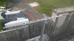 Linha de vida horizontal para telhados 3