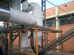 Instalação e Isolamento de tubulação de Óleo Térmico 3