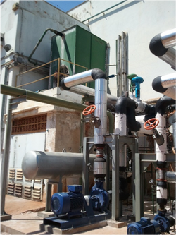 Instalação e Isolamento de tubulação de Óleo Térmico 2