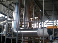 Instalação e Isolamento de tubulação de Óleo Térmico 4