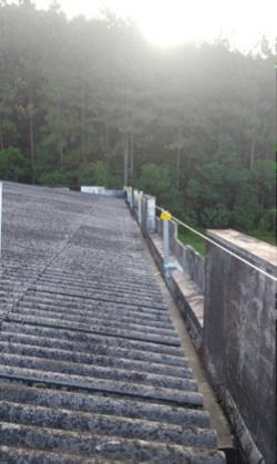 Linha de vida horizontal para telhados 4