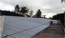 Linha de vida horizontal para telhados 2