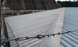 Linha de vida horizontal para telhados