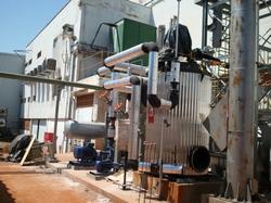 Instalação e Isolamento de tubulação de Óleo Térmico