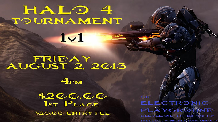 Tournament+halo4+Electronic Playground+Xbox360+