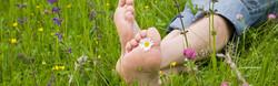 Grassy Feet