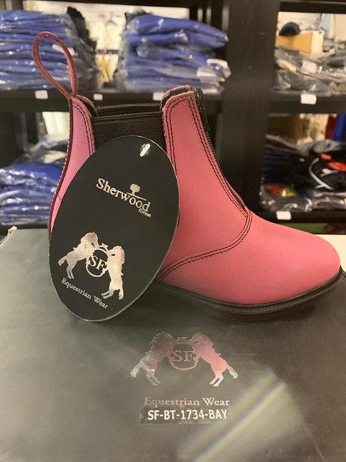Sherwood 'Bay' Childs jodphur boots
