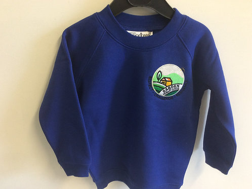 Sabden Nursery Sweatshirt in royal blue