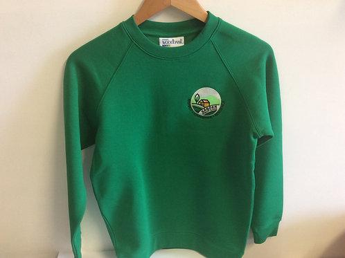 Sabden Emerald Green Sweatshirt for year 6