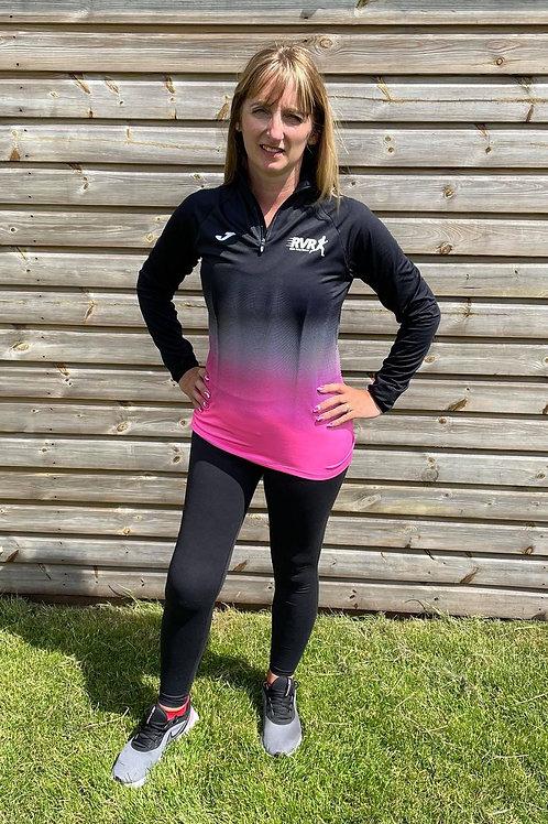 Ribble Valley Runners ¼ zip sweatshirt (ladies)