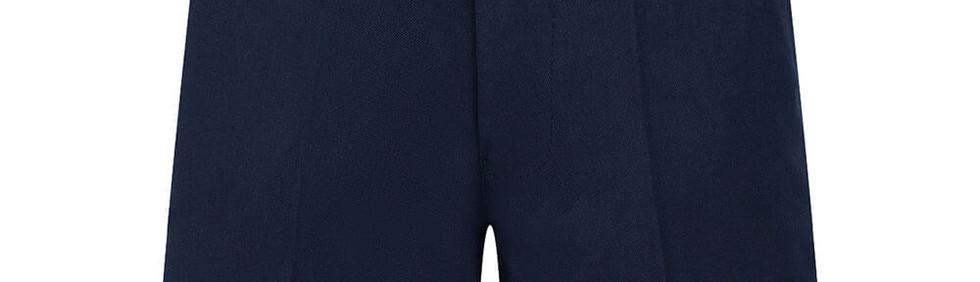 navy half elastic zip shorts.jpg