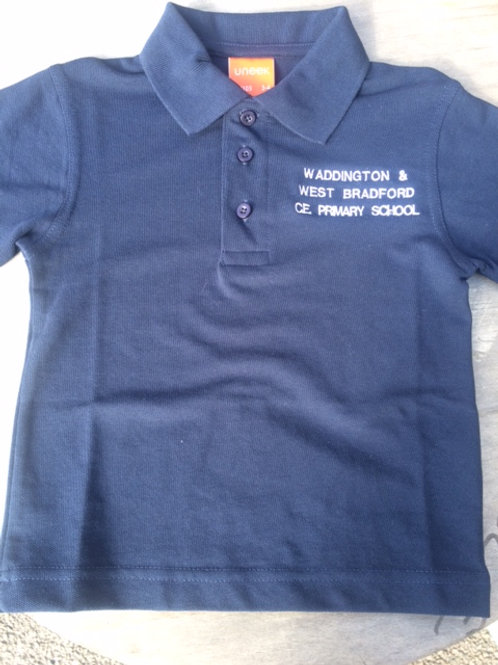 Waddington and West Bradford Polo Shirt in Navy or White