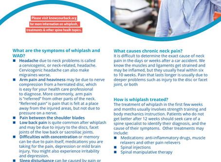 Information About Whiplash