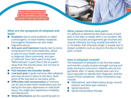 Information About Whiplash