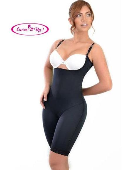 Long Leg Seamless Bodysuit Size: M