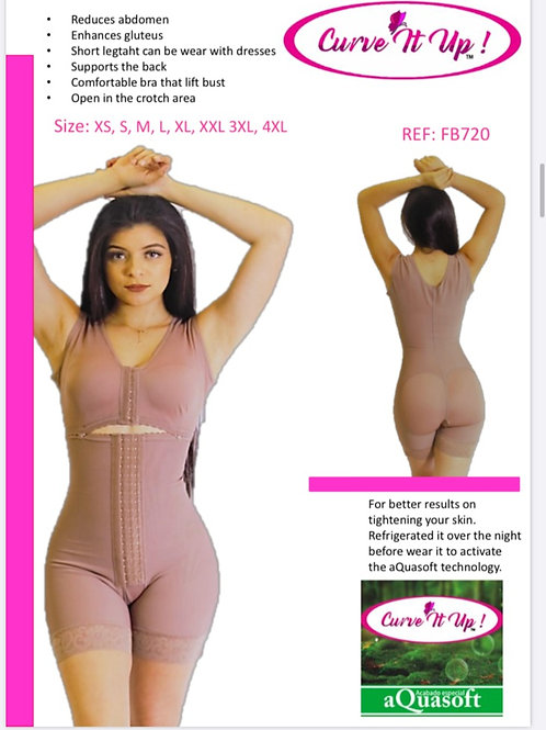 Mid thigh Hook Body Suit/Bra Compression 01