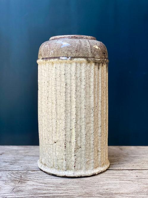 Stone Taupe Vase
