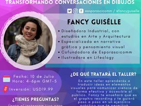 Workshop: Transformando conversaciones en dibujos