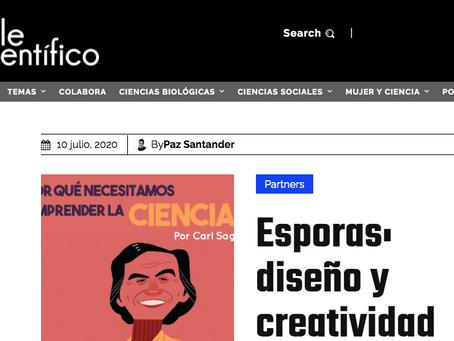 Nota en Chile Científico