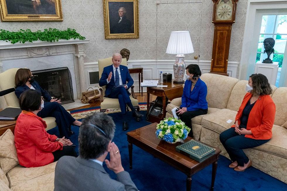Biden Oval Office WHHA Presentation Leat