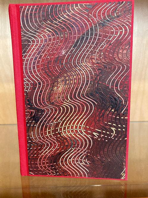 Artist's Hand Painted Portrait Journals & Guestbooks Medium Size