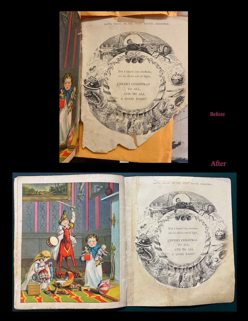 Christmas 19th Century Booklet