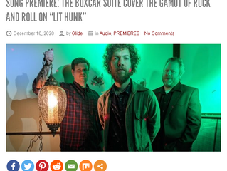 """Lit Hunk"" Premiere at Glide Magazine"