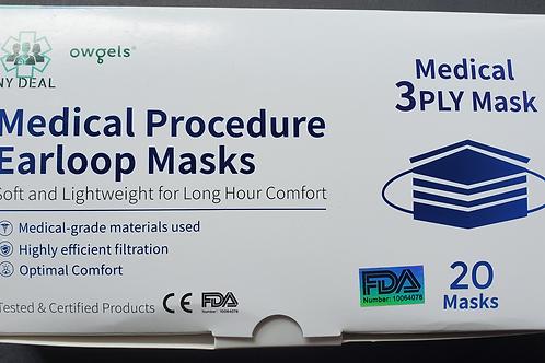 3 Ply Medical Masks