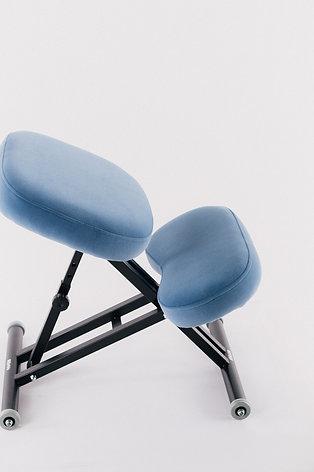 Коленный стул металлический ручная регулировка КС-04М