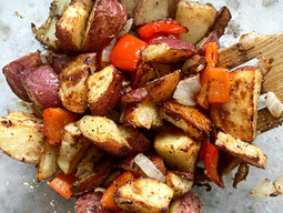 Air fryer Breakfast Potatoes (Home Fries)