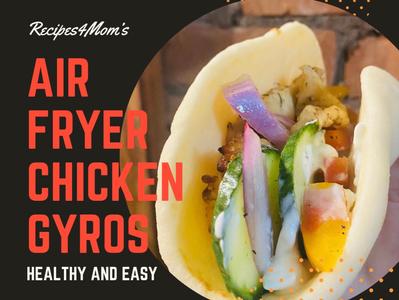 Airfryer Chicken Gyros