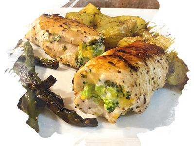Show Stopper Broccoli & Cheese Stuffed Chicken