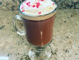 Valentine's Day Red Velvet Latte