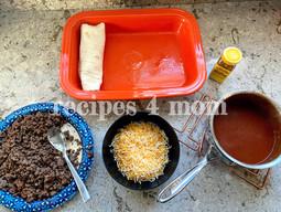 Tasty No Fuss Beef Enchiladas