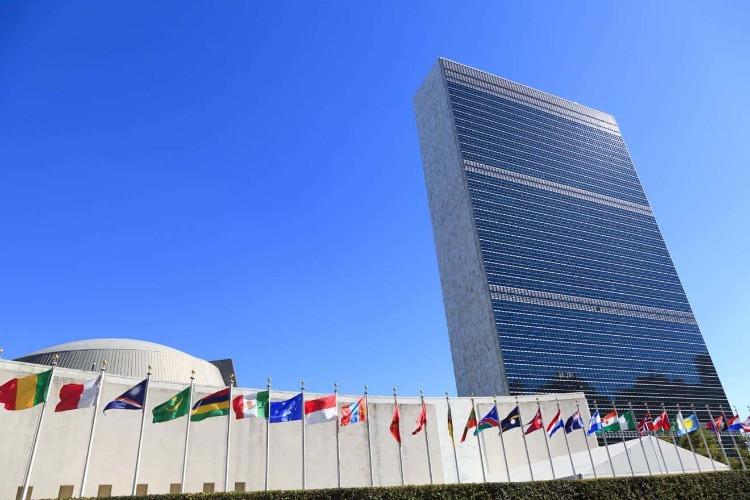 """Sede dell'ONU: """"Il Palazzo di vetro"""" a New York"""