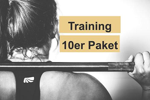 10er Paket Personaltraining Basic