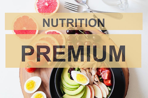 Ernährungscoaching PREMIUM