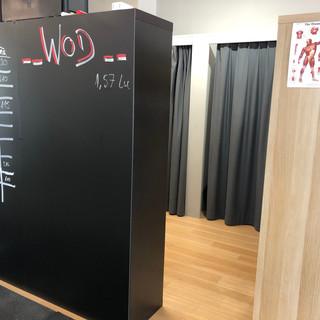 Geräumige Garderobe