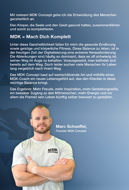 MDK Concept   Buch   Mentale Stärke   Life Coach   Mentales Training   Persönlicher Erfolg   Marc Schoeffel