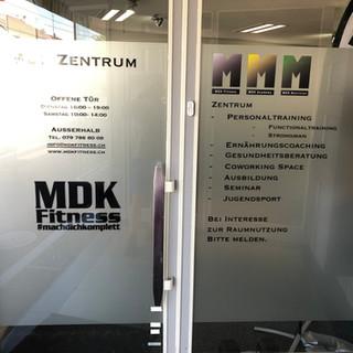 Eingang MDK Zentrum Allschwil