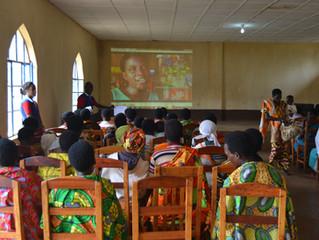 Recruting beneficiaries in Ngozi