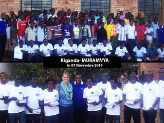 Visite aux bénéficiaires  dans la commune de KIGANDA, en Province MURAMVYA.