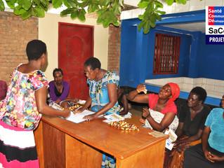 Le Centre SaCoDé à Gatumba accueille des associations féminines d'épargne communautaire