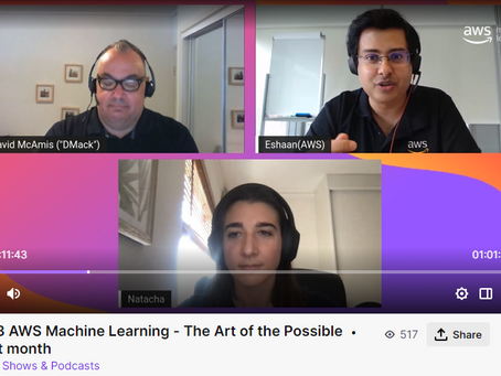 AWS Machine Learning - The Art of the Possible (Twitch Series)