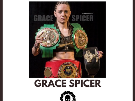 Sponsor The Fighters' Fighter Feature: Grace Spicer
